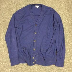 Gap cotton cashmere cardigan sweater - medium